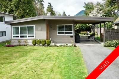 Lynn Valley House for sale:  3 bedroom 1,202 sq.ft. (Listed 2018-01-11)